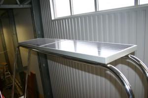Ferdig targa med solceller